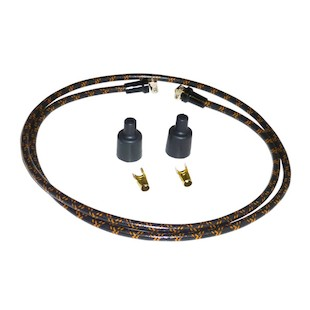 Lowbrow Customs Cloth Spark Plug Wire Set