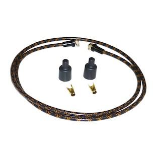 Lowbrow Customs Cloth Spark Plug Wire Set