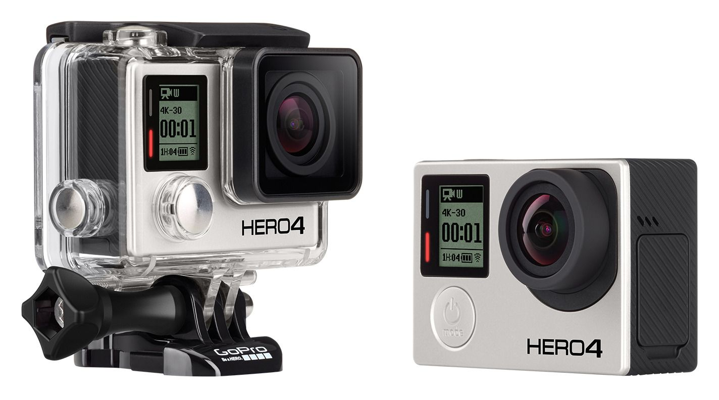 GoPro Hero4 Black Camera - RevZilla
