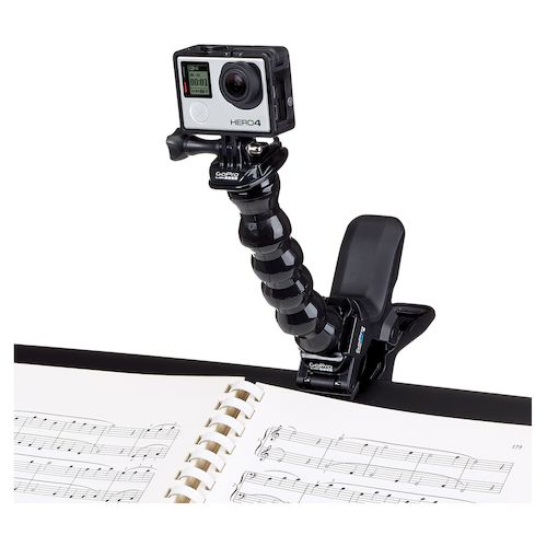 gopro jaws flex clamp instructions