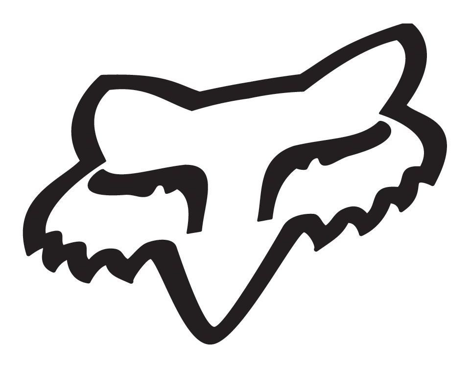 Fox Racing Fox Head Sticker Revzilla