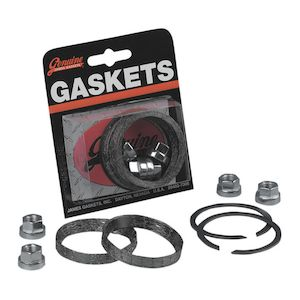 Motorcycle Exhaust Gaskets | Shop Replacement Gaskets & Kits - RevZilla