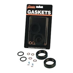 James Gasket Fork Seal Kit For Harley Sportster 1975-1984