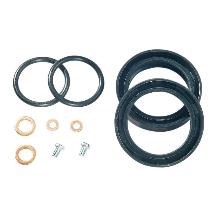 James Gasket Fork Seal Kit For Harley 1988-2019