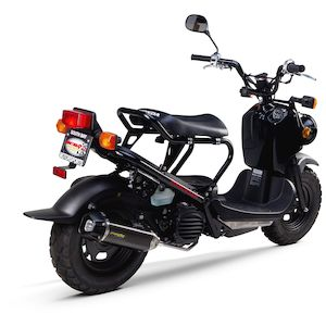 Two Brothers M2 Black Series Exhaust System Honda Ruckus 2002-2019