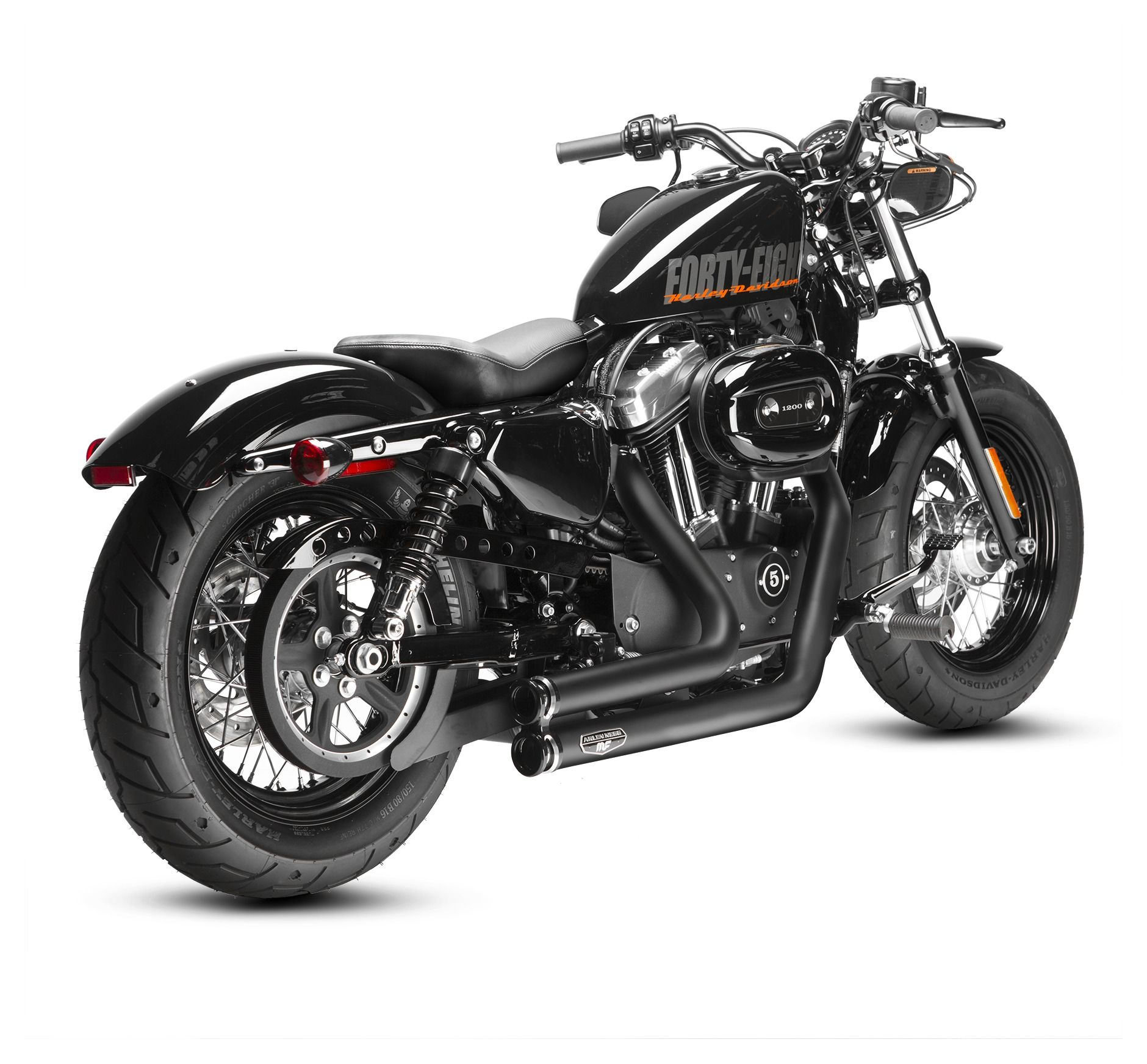 Arlen Ness By Magnaflow Lowdown Exhaust For Harley