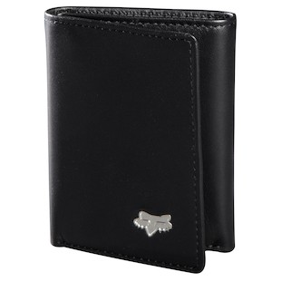 Fox Racing Leather Trifold Wallet