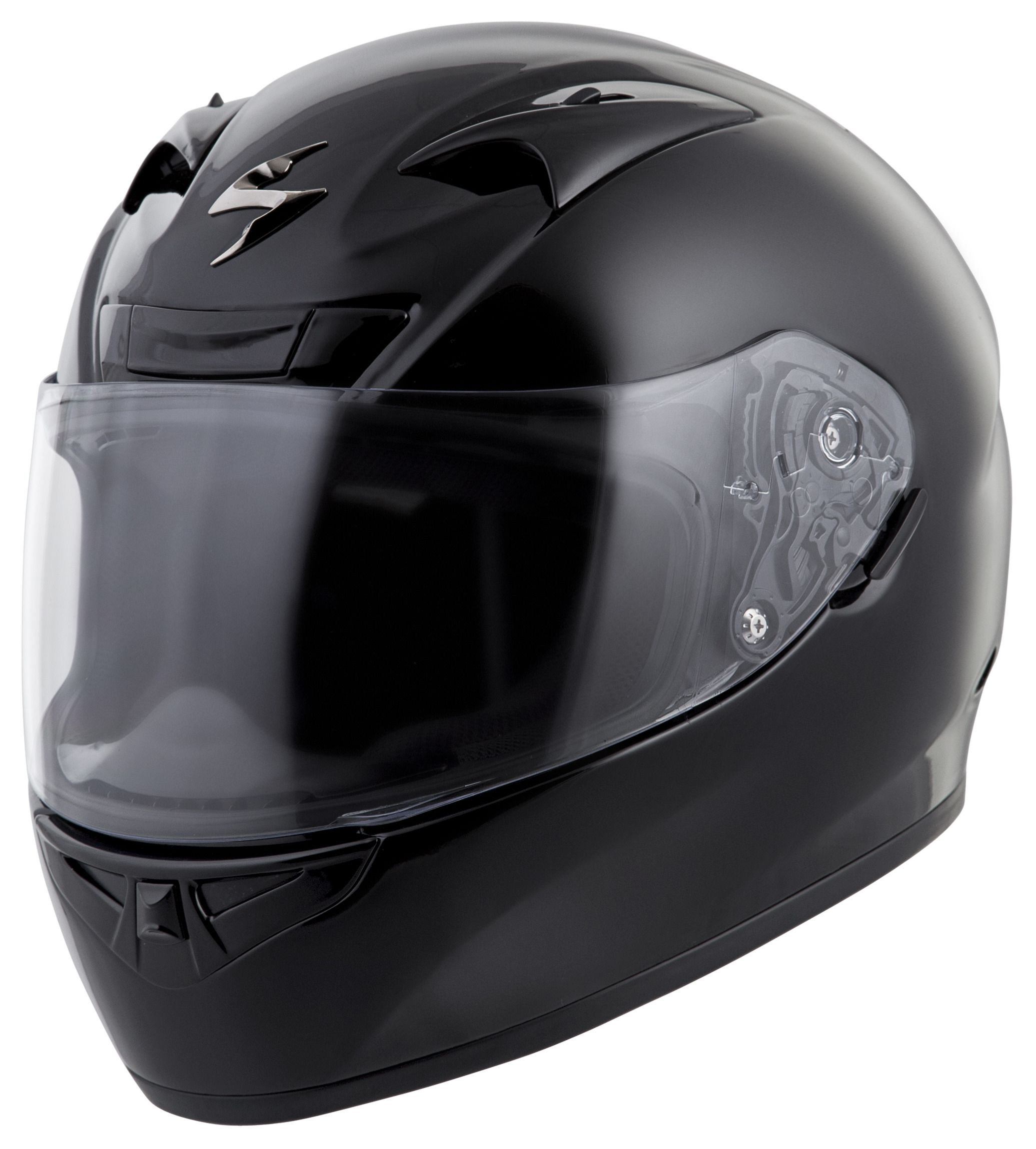 Scorpion Exo R710 Helmet Solid Revzilla Helm Glossy Racing Spirit White Blue