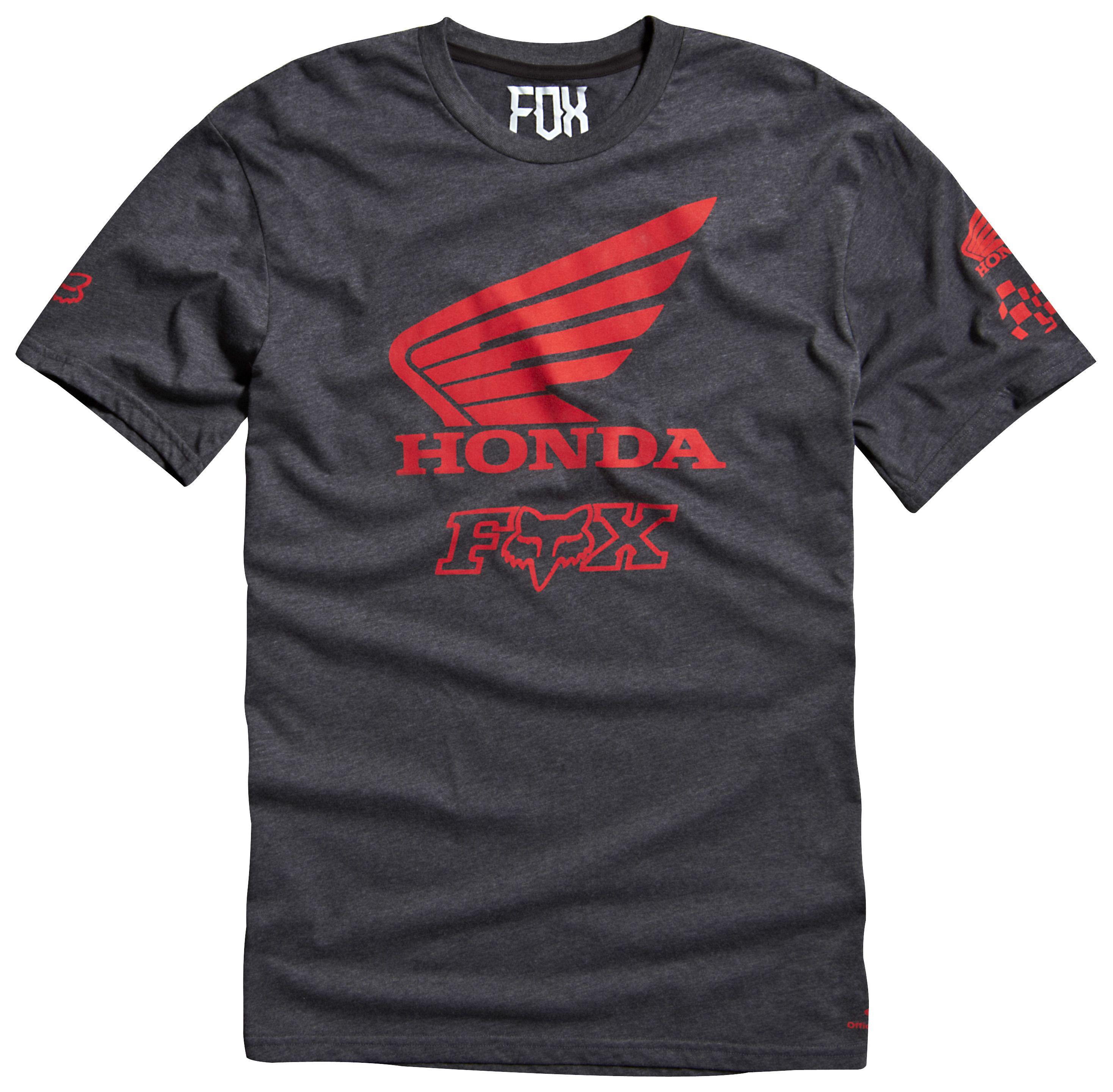 fox racing honda premium t shirt revzilla. Black Bedroom Furniture Sets. Home Design Ideas