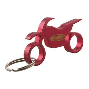 FMF Motorcycle Keychain Bottle Opener
