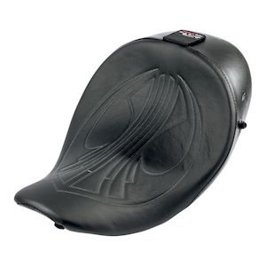 Danny Gray AirHawk BigSeat With Driver's Backrest Capability For Harley