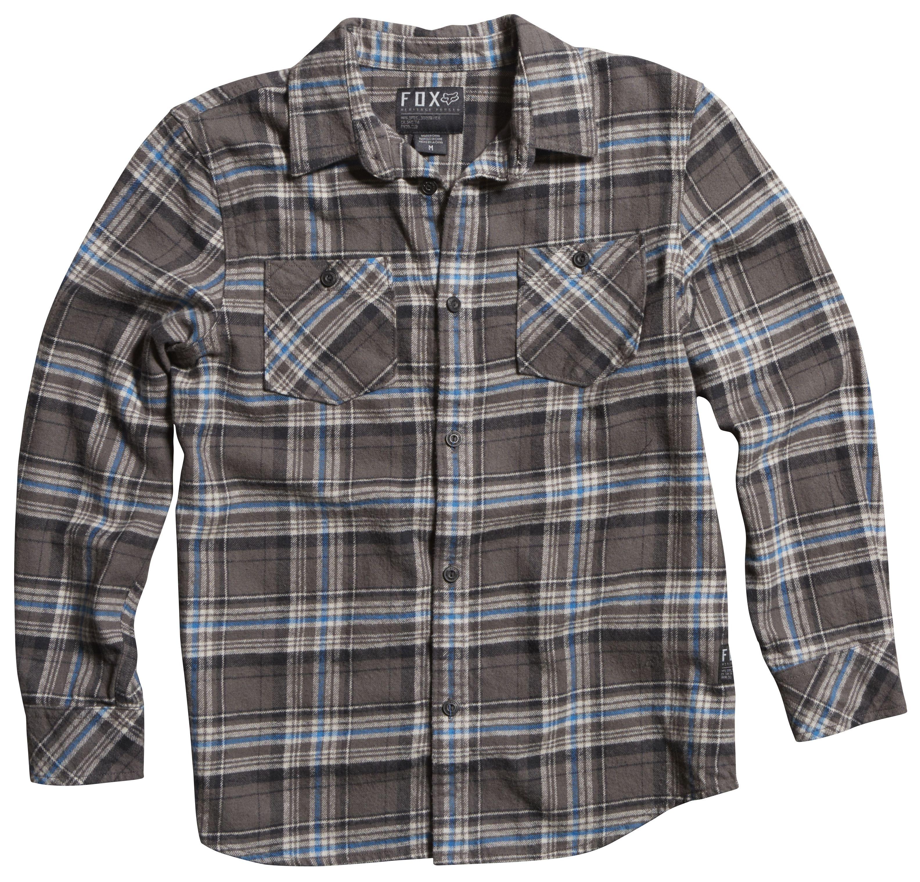 Fox Racing Youth Nico Flannel Shirt Revzilla
