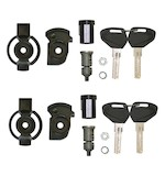 Givi SL102 2-Case Security Lock Set