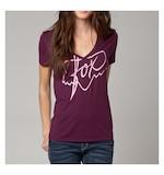 Fox Racing Women's Royal V-Neck T-Shirt