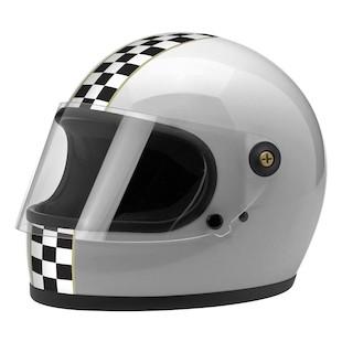 Biltwell Gringo S Checker Motorcycle Helmet