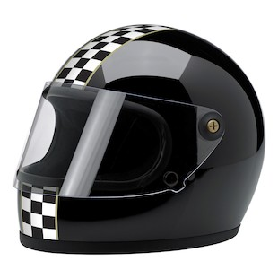 Biltwell Gringo S Checker Limited Edition Helmet