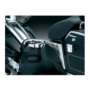 Kuryakyn Passenger Drink Holder For Harley Touring / Trike 1998-2013