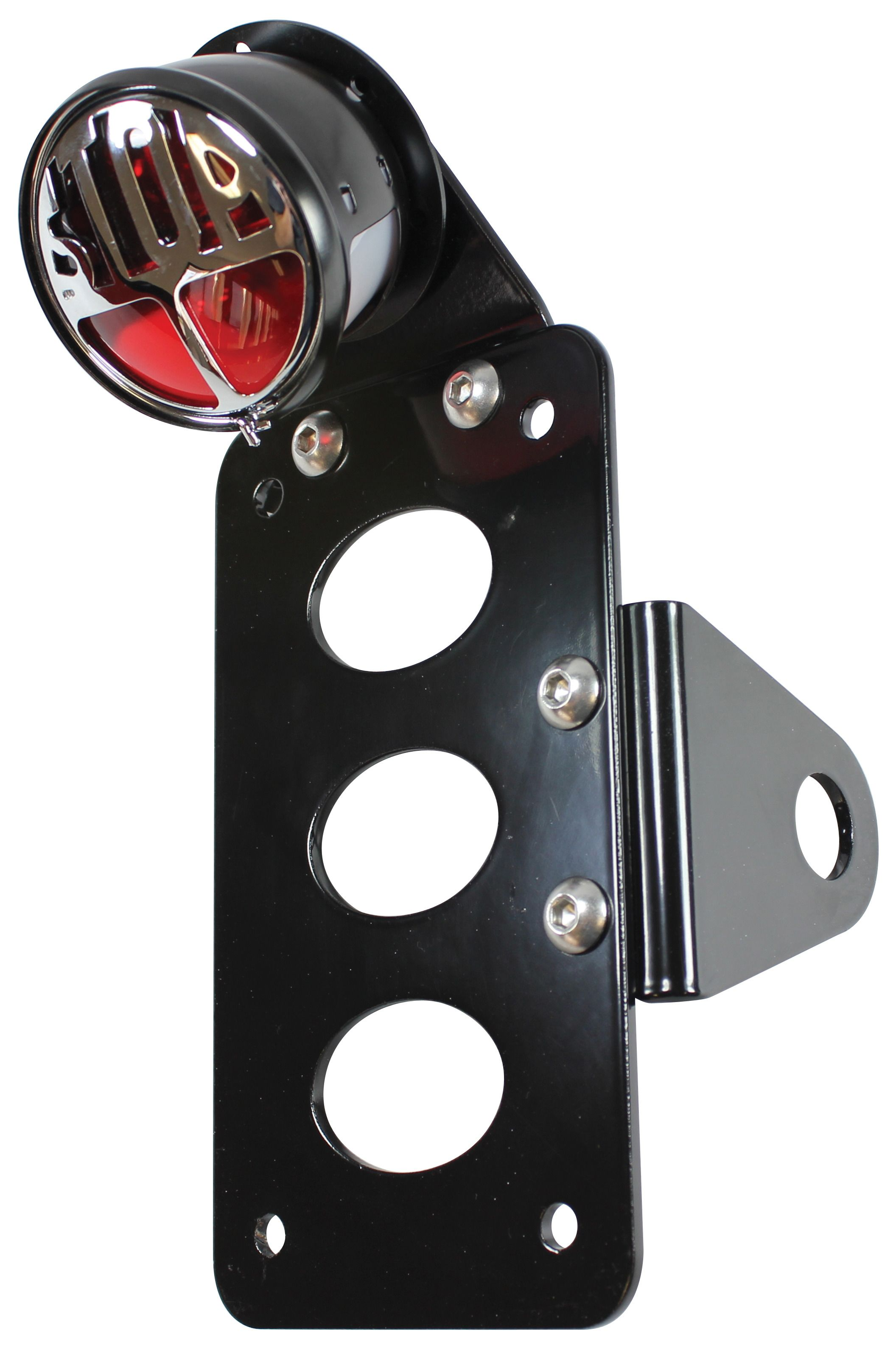 Tc Bros Stop Side Mount Tail Light License Plate