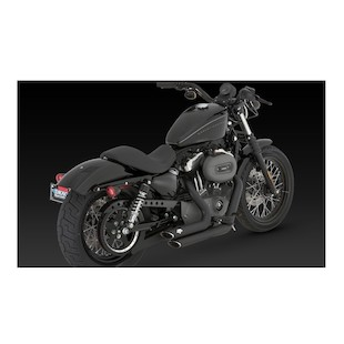 Vance & Hines Shortshots Staggered Exhaust For Harley