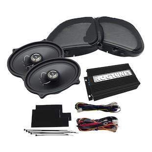 Hogtunes Gen 3 Front Speaker / Amp Kit For Harley Road Glide 1998-2013