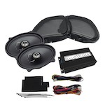 Hogtunes Gen 3 Front Speaker/Amp Kit For Harley Road Glide 1998-2013
