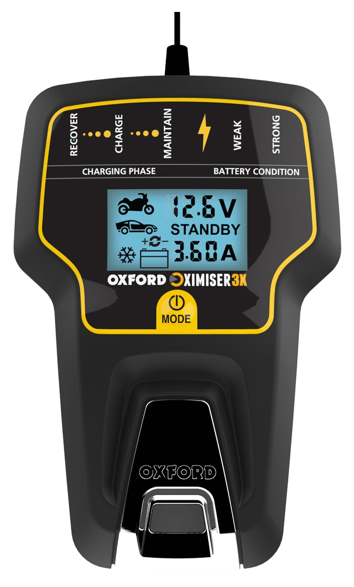 Battery Management System : Oxford oximiser advanced battery management system