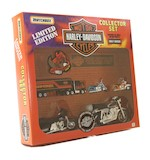 Harley Davidson Matchbox Toy Motorcycle Set