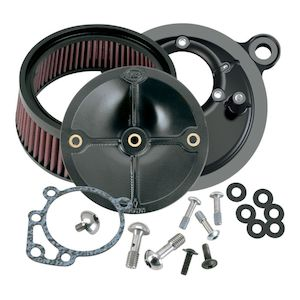 S&S Stealth Air Cleaner Kit For Harley EFI