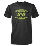 Speed and Strength Full Battle Rattle T-Shirt