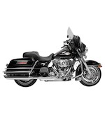 "Rush Big Louie 4"" Slip-On Mufflers For Harley Touring 1995-2016"