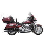 Rush Oval Series Slip-On Mufflers For Harley Touring 1995-2016
