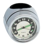 Drag Specialties Handlebar Mount Clock or Thermometer