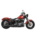 Rush Wrath 2-Into-1 Exhaust System For Harley Softail 1986-2014