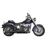 Rush 2-Into-1 Exhaust System For Harley Softail 1986-2013