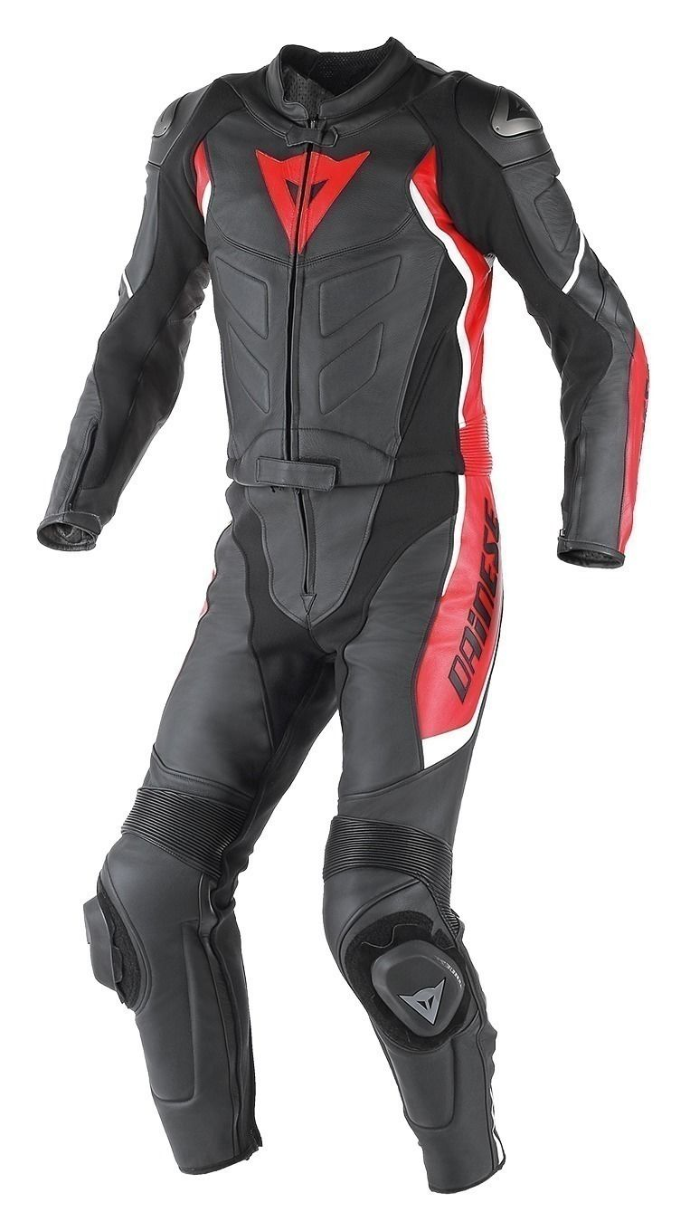 dainese avro d1 two piece perforated race suit closeout. Black Bedroom Furniture Sets. Home Design Ideas