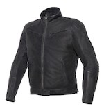 Dainese Black Hawk Leather Jacket