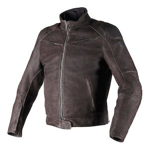 Dainese Black Hawk Leather Jacket - (Sz 54 Only)