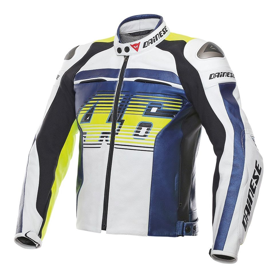 Dainese vr46 d1 leather jacket sz 48 only 25 174 for D garage dainese corbeil horaires