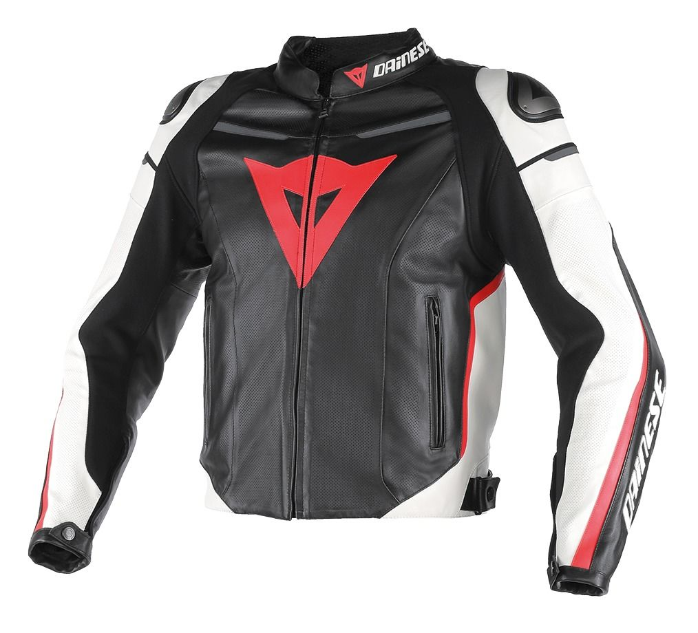 Dainese Super Fast Perforated Leather Jacket 30 194