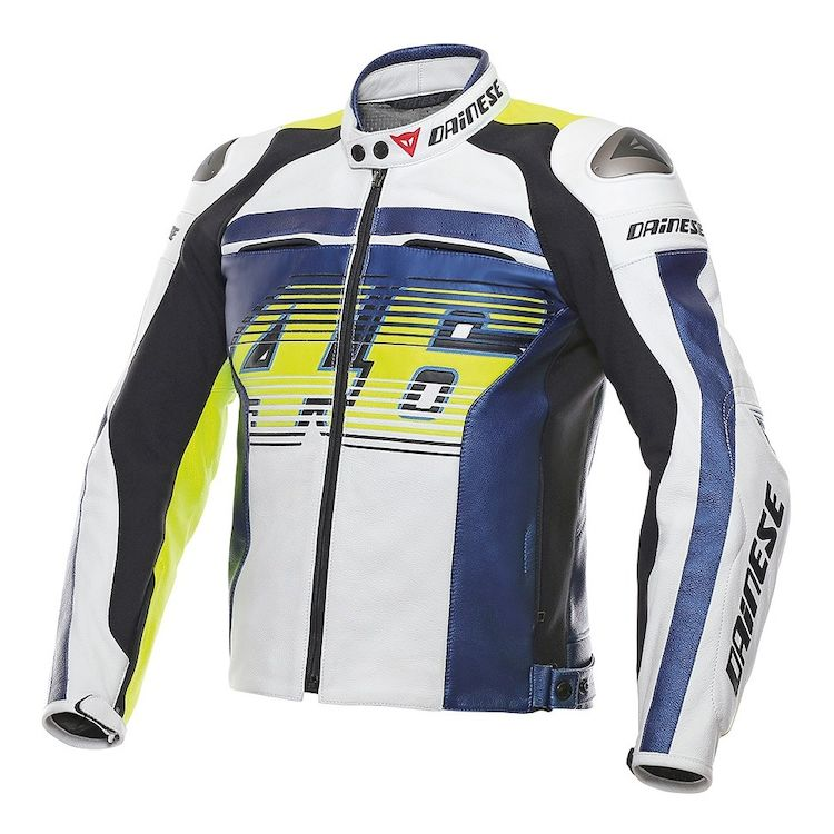Dainese VR46 D1 Perforated Leather Jacket