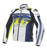 Dainese VR46 D1 Perforated Leather Jacket [Size 44 Only]