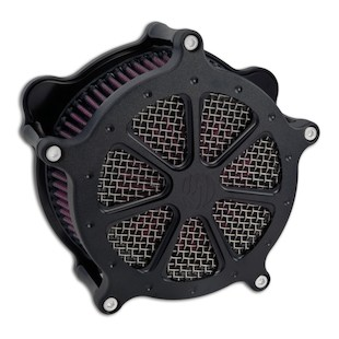 Roland Sands Venturi Speed 7 Air Cleaner For Harley Big Twin 1993-2015 Black Ops [Open Box]