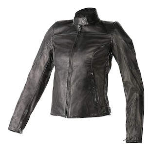 Dainese Women's Mike Leather Motorcycle Jacket