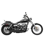 Rush Short Series Exhaust System For Harley Dyna 2006-2015