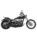 Rush Long Series Exhaust System For Harley Dyna 2006-2014