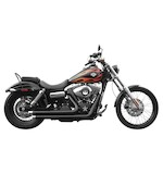 Rush Crossover Series Exhaust System For Harley Dyna 2006-2015