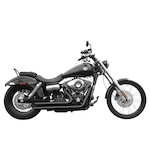 Rush Short Series Exhaust System For Harley Dyna 1991-2005