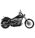 Rush 2-Into-1 Exhaust System For Harley Dyna 2006-2014