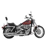 "Rush 3"" Slip-On Mufflers For Harley Dyna 1995-2015"