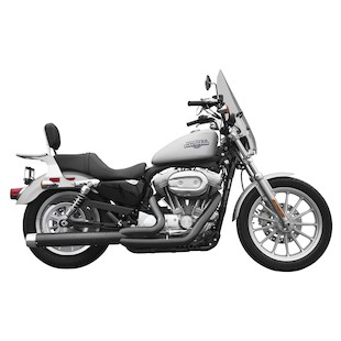 Rush 2-Into-1 Exhaust System For Harley Sportster 2004-2013